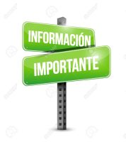 important information street Spanish sign illustration design graphic